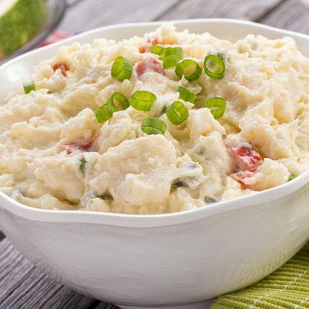 Een aardappelsalade voor bij de barbecue